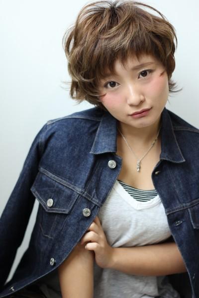 【BAMBINI】オン眉×マッシュショート