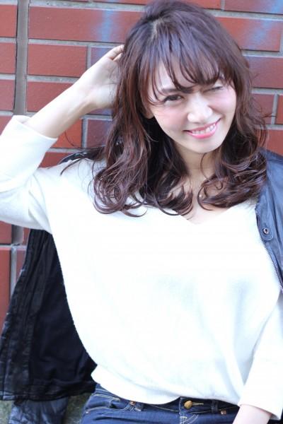 【BAMBINI】シースルーバング×ピュアエロ