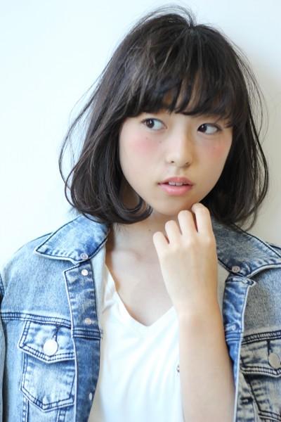 【BAMBINI】黒髪×ワンカールボブ