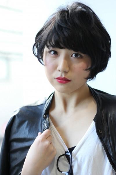 【BAMBINI】黒髪×マッシュショート