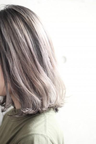 【外国人風カラー】ハイライト+シフォンベージュ